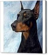 Doberman Pinscher 502 Canvas Print