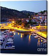 Dock In Douro River Canvas Print