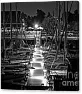 Dock  Quai Canvas Print