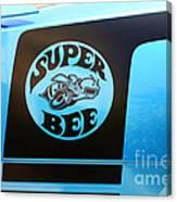 Dodge Charge Super Bee Logo  Canvas Print