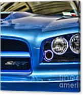 Dodge Charger Front Canvas Print