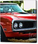 Dodge Super Bee Classic Red Canvas Print