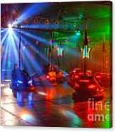 Dodgems Canvas Print
