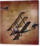 Dogfight 1918 Canvas Print