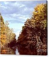 Dogleg Lake Canvas Print