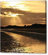 Donabate Beach Canvas Print