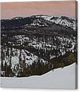 Donner Panoramic Canvas Print