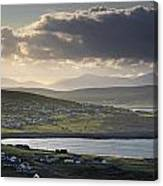 Dooagh, Achill Island, Co Mayo, Ireland Canvas Print