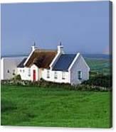 Doolin, Co Clare, Ireland Renovated Canvas Print