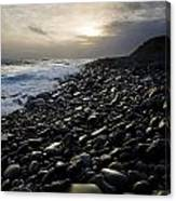 Doolin, County Clare, Ireland Pebble Canvas Print