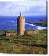 Doonagore Castle, Co Clare, Ireland Canvas Print