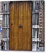Door Number 59 Canvas Print