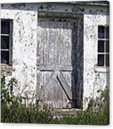 Door To Barn Canvas Print