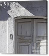 Doors Number 9 Canvas Print