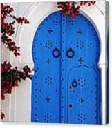 Doorway In Tunisia 1 Canvas Print