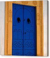 Doorway In Tunisia 2 Canvas Print