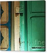 Doorway In Tunisia 4 Canvas Print