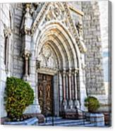 Doorway Sacred Heart Cathedral Canvas Print