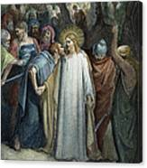 Dor�: Betrayal Of Christ Canvas Print