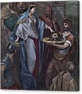 Dor�: Daughter Of Herod Canvas Print