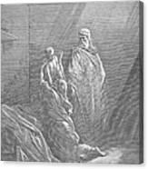 Dor�: Elijah & Widows Son Canvas Print