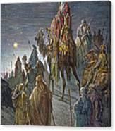 Dor�: Journey Of The Magi Canvas Print