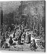 Dor�: London, 1872 Canvas Print