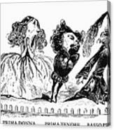 Dor�: Opera Performers Canvas Print