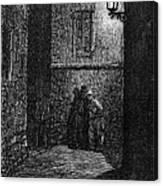 Dore: London, 1872 Canvas Print