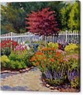 Dotti's Garden Summer Canvas Print
