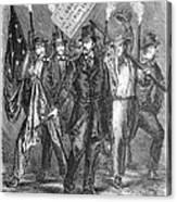 Douglas: Election Of 1860 Canvas Print