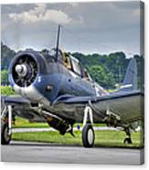 Douglas Sbd-5 Dauntless Canvas Print