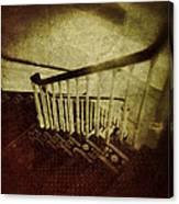 Down A Staircase Canvas Print
