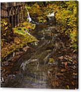 Down By The Old Mill Stream Canvas Print