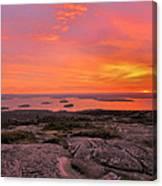 Down East Sunrise Canvas Print