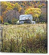 Down In A West Va Valley Canvas Print
