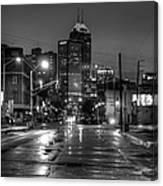 Down Mass. Ave. Canvas Print