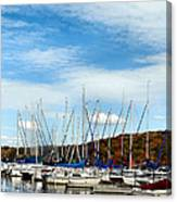 Down To The Docks Canvas Print
