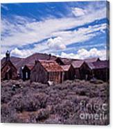 Downtown  Bodie Canvas Print