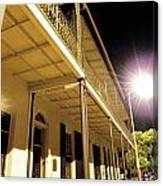 Downtown Balcony Baton Rouge Canvas Print