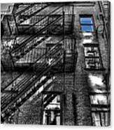 Downtown Blue Sky Dreams Canvas Print