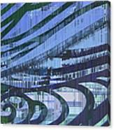 Downtown Blues Canvas Print