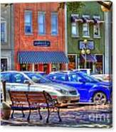 Downtown Georgetown Canvas Print