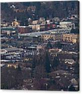 Downtown Grants Pass Sunday Morning Canvas Print