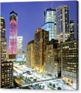 Downtown Manhattan Canvas Print