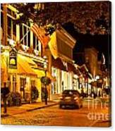 Downtown Newport Canvas Print