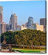 Downtown Philadelphia Skyline Canvas Print