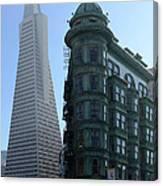 Downtown San Francisco 2 Canvas Print