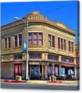 Downtown Shiner Texas Canvas Print
