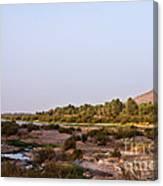 Draa River Canvas Print
